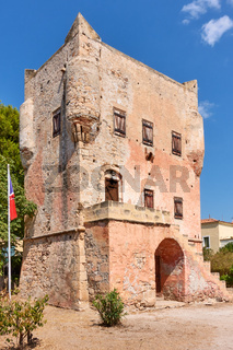 The tower of Markellos in Aegina