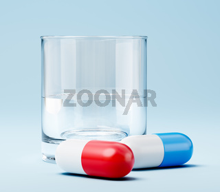 Two Pills and a Glass of Water