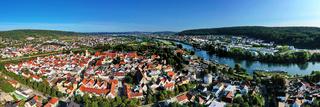 Panoramabild von Kelheim