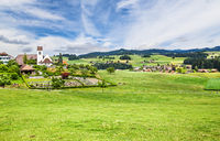 Small town of Emmental in Switzerland
