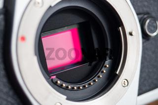 Camera photo sensor