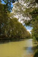 Canal-du-midi in France