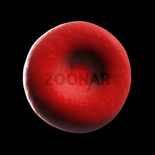 3d rendered illustration of human a red blood cell