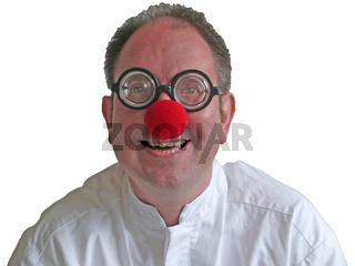 Ein lachender Clown