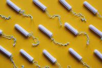 tampon flat lay