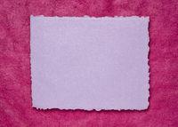 blank Indian handmade rag paper