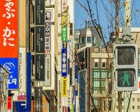 Bilboards at Ginza District, Tokyo, Japan