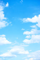 Blue sky white clouds