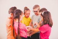Trust and support between kids, best friends