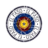 City of El Paso, Texas vector stamp