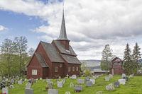 Stabkirche Hegge in Oppland