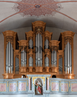 Organ, Parish Church St. Jakobus, Winterberg, Germany
