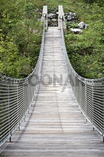 Hängebrücke Nähe Hintersee