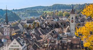Stadt  Schaffhausen, Schweiz