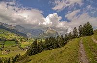 At Alt St. Johann, Säntis and Wildhuser Schafberg, Switzerland