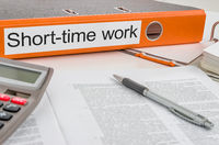 Folder with the label Short-time-work