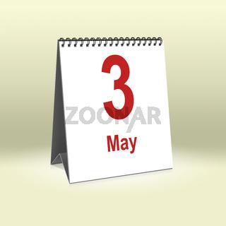 May 3rd   3. Mai