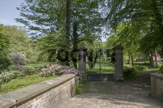 Eingang zum ehemaligen Garten-Haus Welbergen