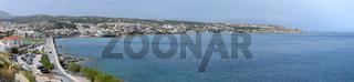 Panorama von Rethymnon auf Kreta