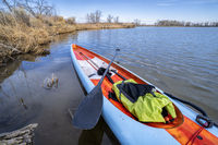 stand up paddling in early spring