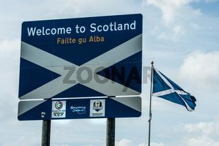 Grenze Schottland