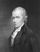 Alexander Hamilton (1755-1804) on engraving from 1835. Founding father of the United States. Engraved by E.Prudhomme and published in ''National Portrait Gallery of Distinguished Americans Volume II''