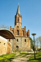 Abbey church Altfriedland, Brandenburg, Germany