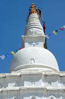 Swayambhunath Stupa temple