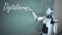 Humanoid Robot Blackboard Digitalisierung