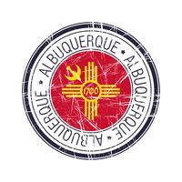 City of Albuquerque,New Mexico vector stamp