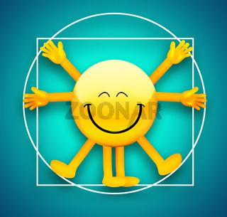 Vitruvian Emoticon