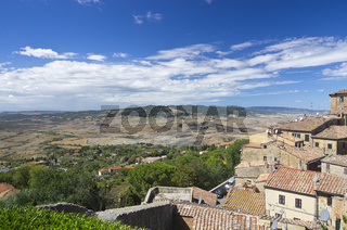 Dorfansicht Volterra, Toskana - City view of Volterra, Tuscany