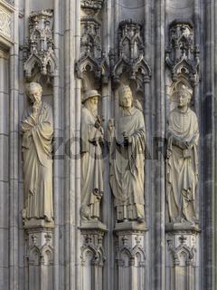 Münster - Kirche St. Lamberti, Portal, Deutschland