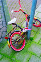 Parked Kids bicycle