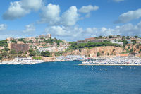 Sant Feliu de Guixols,Costa Brava,Catalonia,mediterranean Sea,Spain