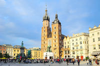 Market Square in Krakow