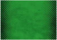 Green Grunge Background with Texture and Halftone