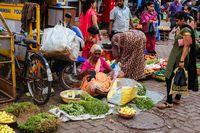 Colaba Causeway Market Stall Mumbai India