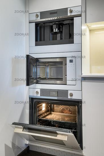 Luxury kitchen Interior with minimalism design