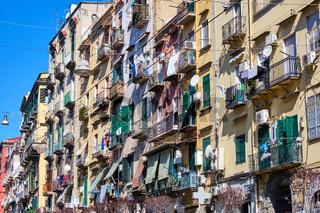 Wohnen in der Altstadt von Neapel