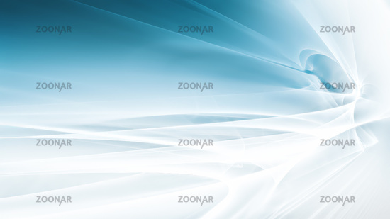 Bright background with abstract white fractal