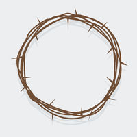 simple crown of thorns