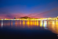 Split. Amazing Split waterfront evening view
