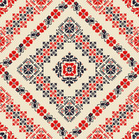 Romanian traditional pattern 118