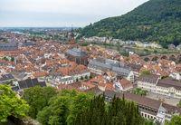 Heidelberg aerial view