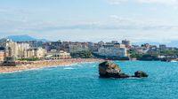 Biarritz Grande Plage in France