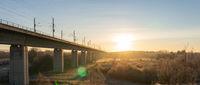Bridge to the sunrise