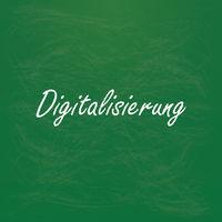 Digitalisierung Green School Blackboard