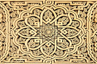 arabic carving in Morocco