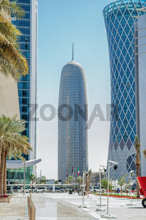 View of the Burj Tower